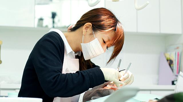 予防歯科(歯のクリーニング)